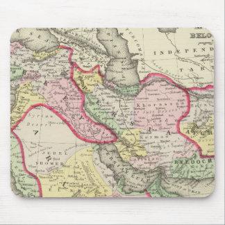 Persia, Arabia, Turkey, Afghanistan, Beloochistan Mouse Mat