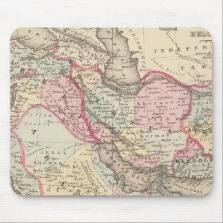 Persia, Arabia, Turkey, Afghanistan, Beloochistan Mouse Pad