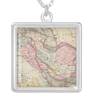 Persia, Arabia, Turkey, Afghanistan, Beloochistan Silver Plated Necklace