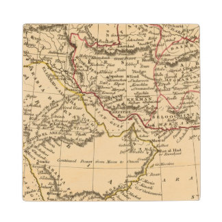 Persia, Arabia Wood Coaster