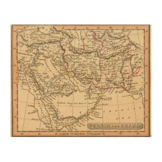 Persia, Arabia Wood Wall Art