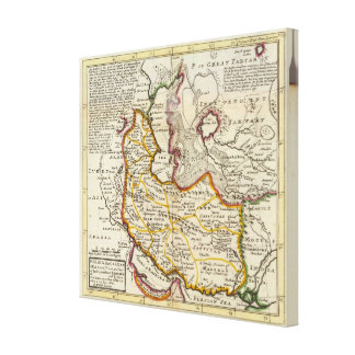 Persia, Caspian Sea, part of Independent Tartary Gallery Wrap Canvas