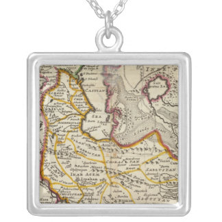 Persia, Caspian Sea, part of Independent Tartary Silver Plated Necklace