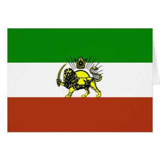 Persia Flag Card