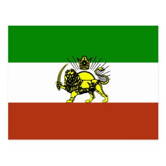 Persia Flag Postcard