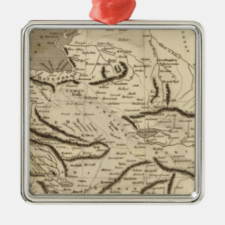 Persia Map by Arrowsmith Christmas Ornament