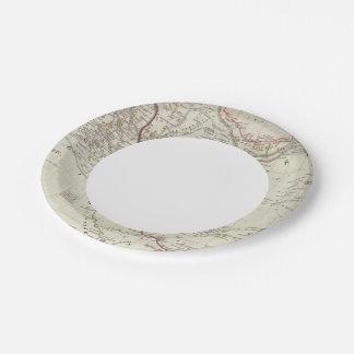 Persia, Ottoman Empire 7 Inch Paper Plate