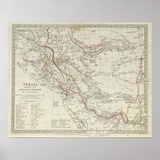 Persia, Ottoman Empire Poster