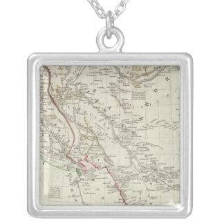 Persia, Ottoman Empire Silver Plated Necklace