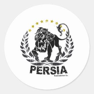Persia Round Sticker