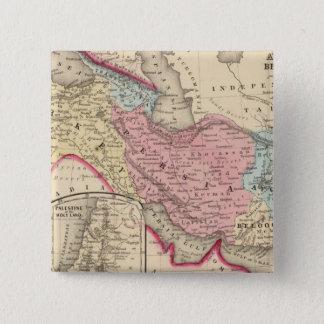 Persia, Turkey, Afghanistan, Beloochistan 15 Cm Square Badge