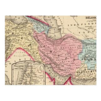 Persia, Turkey, Afghanistan, Beloochistan Postcard
