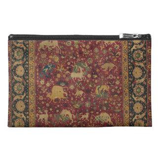 Persian Animal Carpet Organizer Travel Accessories Bag