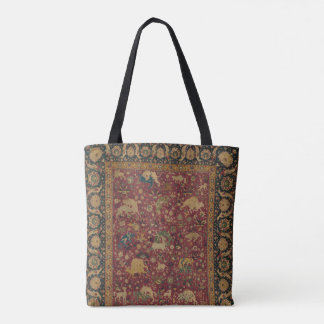 Persian Animal Carpet Tote