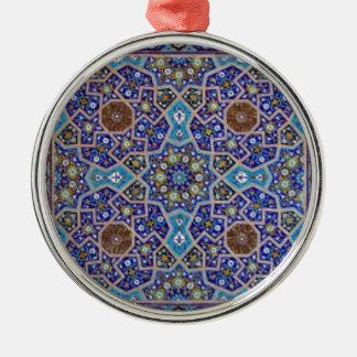 Persian art christmas ornament