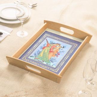 Persian Art Persian New Year Gift Serving Tray