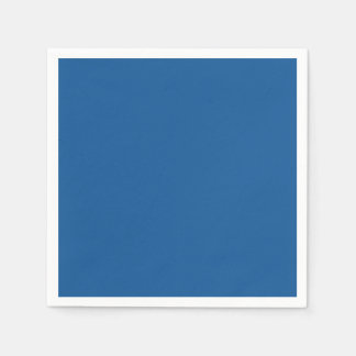 Persian Blue Personalized Trend Color Background Disposable Napkin
