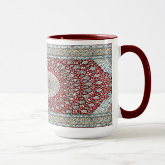 Persian Carpet in Reddish Mug