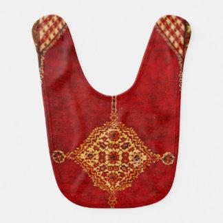 Persian carpet pattern bib