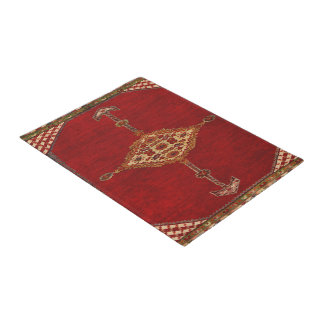 Persian carpet pattern doormat