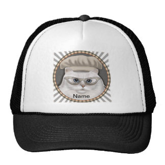 Persian Cat Chef Cap