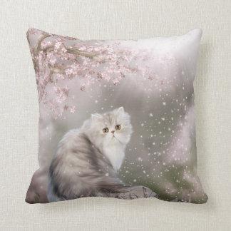 Persian cat cushion