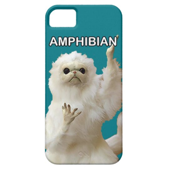 Persian Cat Guardian Amphibian Meme Phone Case! iPhone