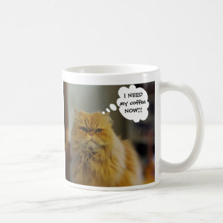 Persian Cat Needs Coffee Mug