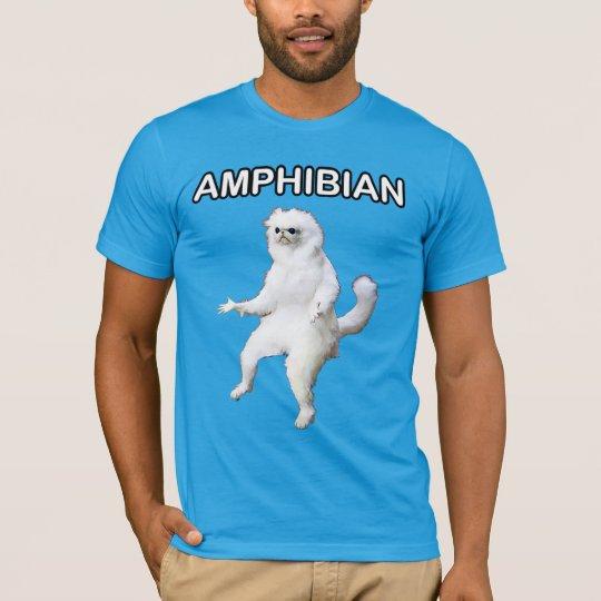 Persian Cat Room Guardian Amphibian Meme Shirt