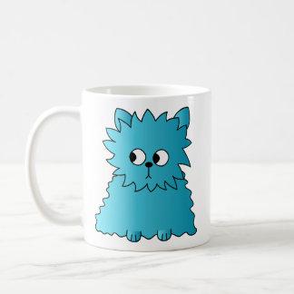 Persian Cat. Teal. Coffee Mug