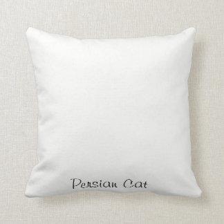 Persian Cat Throw Cushion
