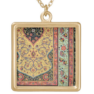 Persian Decoration, plate XXV from 'Polychrome Orn Gold Plated Necklace