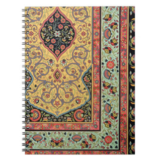Persian Decoration, plate XXV from 'Polychrome Orn Spiral Notebook