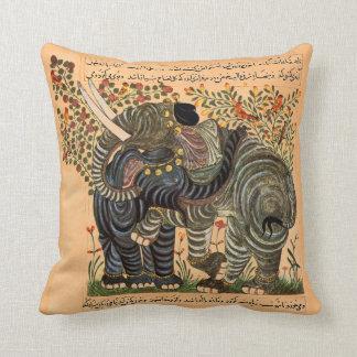 Persian Elephants pillow