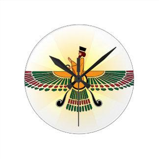 Persian Farvahar Clock