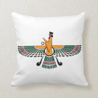 Persian Farvahar Pillow Throw Cushions