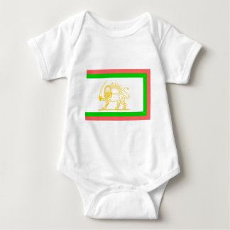 Persian Flag (1906) Baby Bodysuit