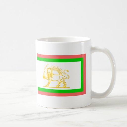 Persian Flag (1906) Coffee Mugs