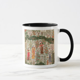 Persian Garden, 15th century (w/c on paper) Mug