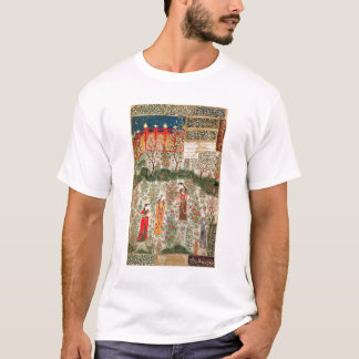 Persian Garden, 15th century (w/c on paper) T-Shirt