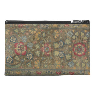 Persian Green Floral Organizer Travel Accessories Bag