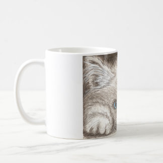 Persian Himalayan Kitten / Cat Coffee Mug