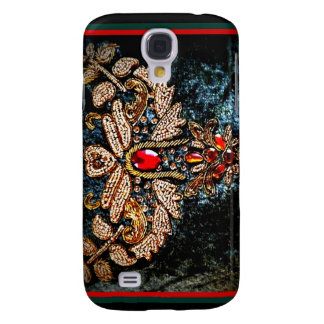 PERSIAN JEWELED EMBROIDERED PILLOW DESIGN GALAXY S4 CASE