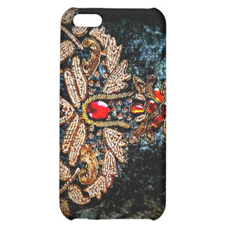 PERSIAN JEWELED EMBROIDERED PILLOW DESIGN iPhone 5C COVER