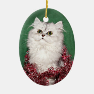 Persian kitten Christmas Christmas Ornament