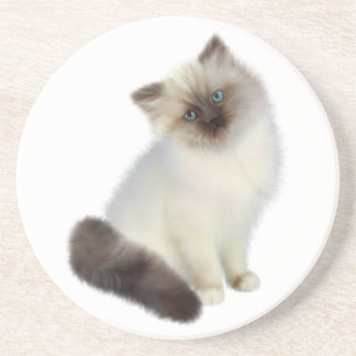 Persian Kitten Coaster