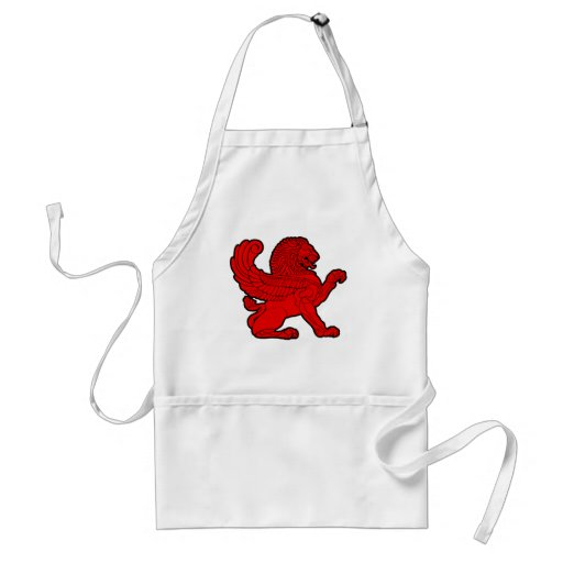 persian lion aprons
