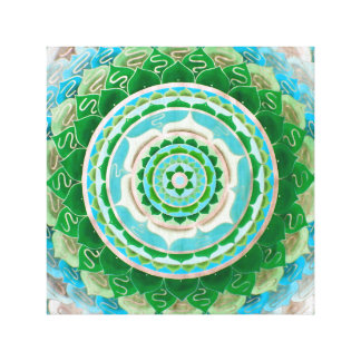 Persian mandala canvas print