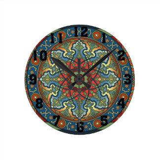 Persian Mandala Clock