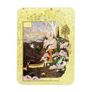 Persian Miniature: Salaman & Absal Postcard Magnet